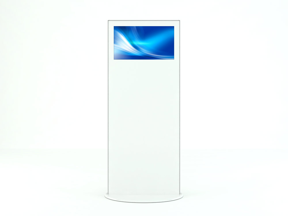 Interactive Digital Kiosks - Lamina28 side view