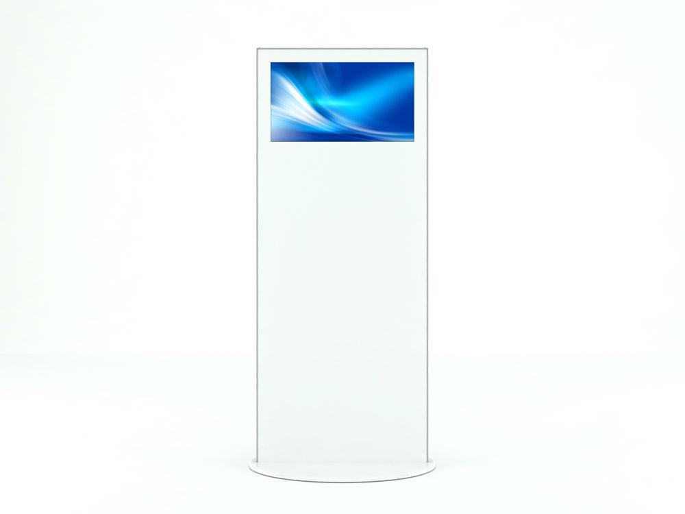 Interactive Digital Kiosks - Lamina28 side view