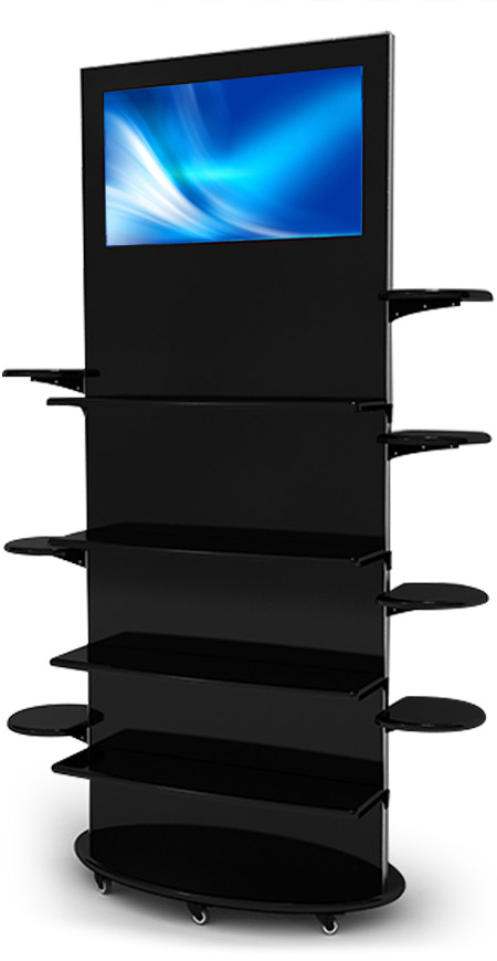 Interactive Digital Kiosks - Lamina 28 black