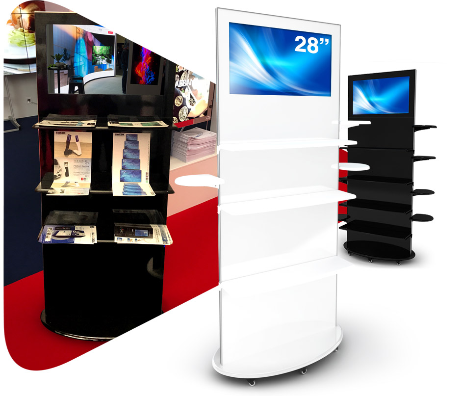 Interactive Digital Kiosks - Lamina 28 spec ad