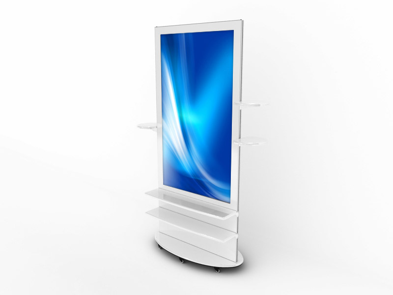 Interactive Digital Kiosks - Lamina 50-58 shelves