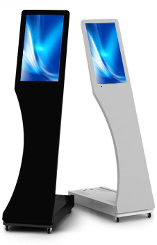 Interactive Digital Kiosks - Signo front view