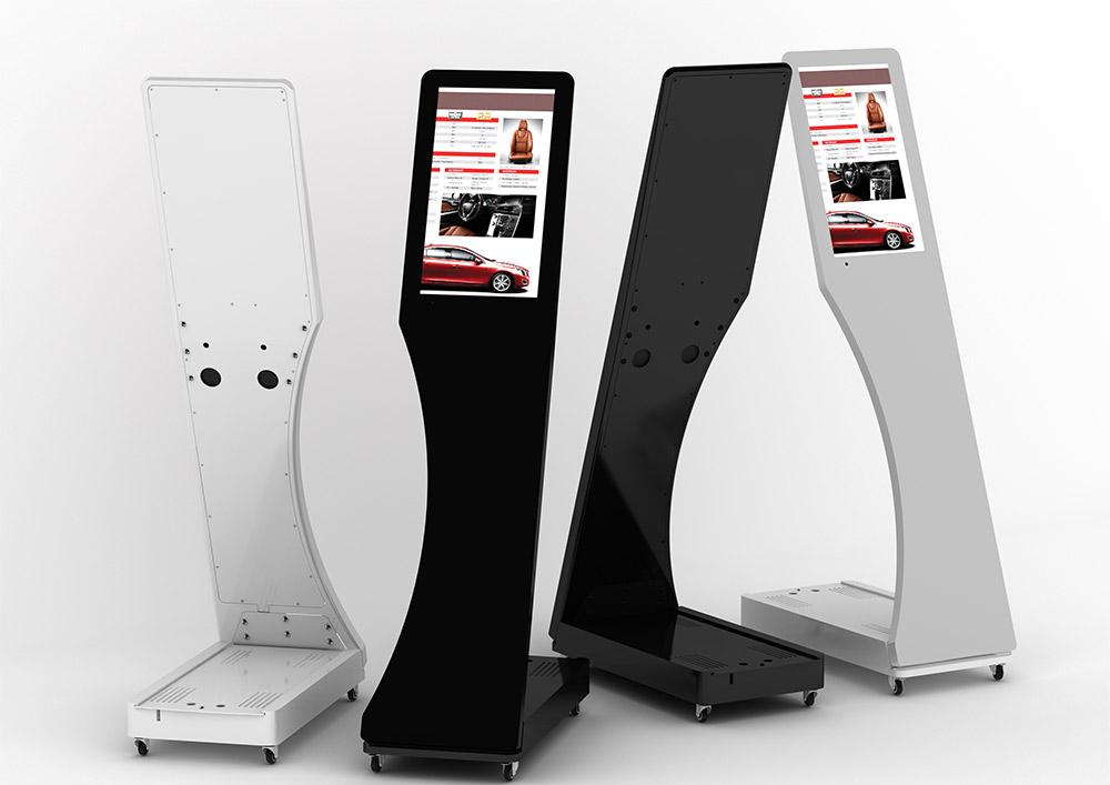Interactive Digital Kiosks - Signo white black
