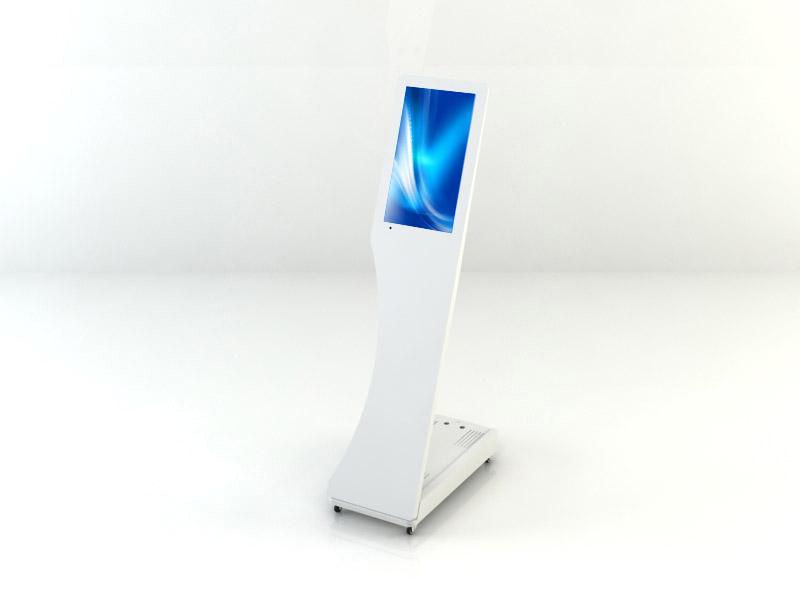 Interactive Digital Kiosks - signo white