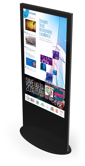 Interactive Digital Kiosks - Corporate Communications