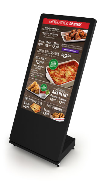 Interactive Digital Kiosks - Menu Board